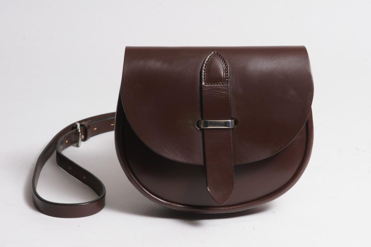 ISLAY £ 295.00. Bridle hide leather saddle bag ... e1fd6340d4ec7