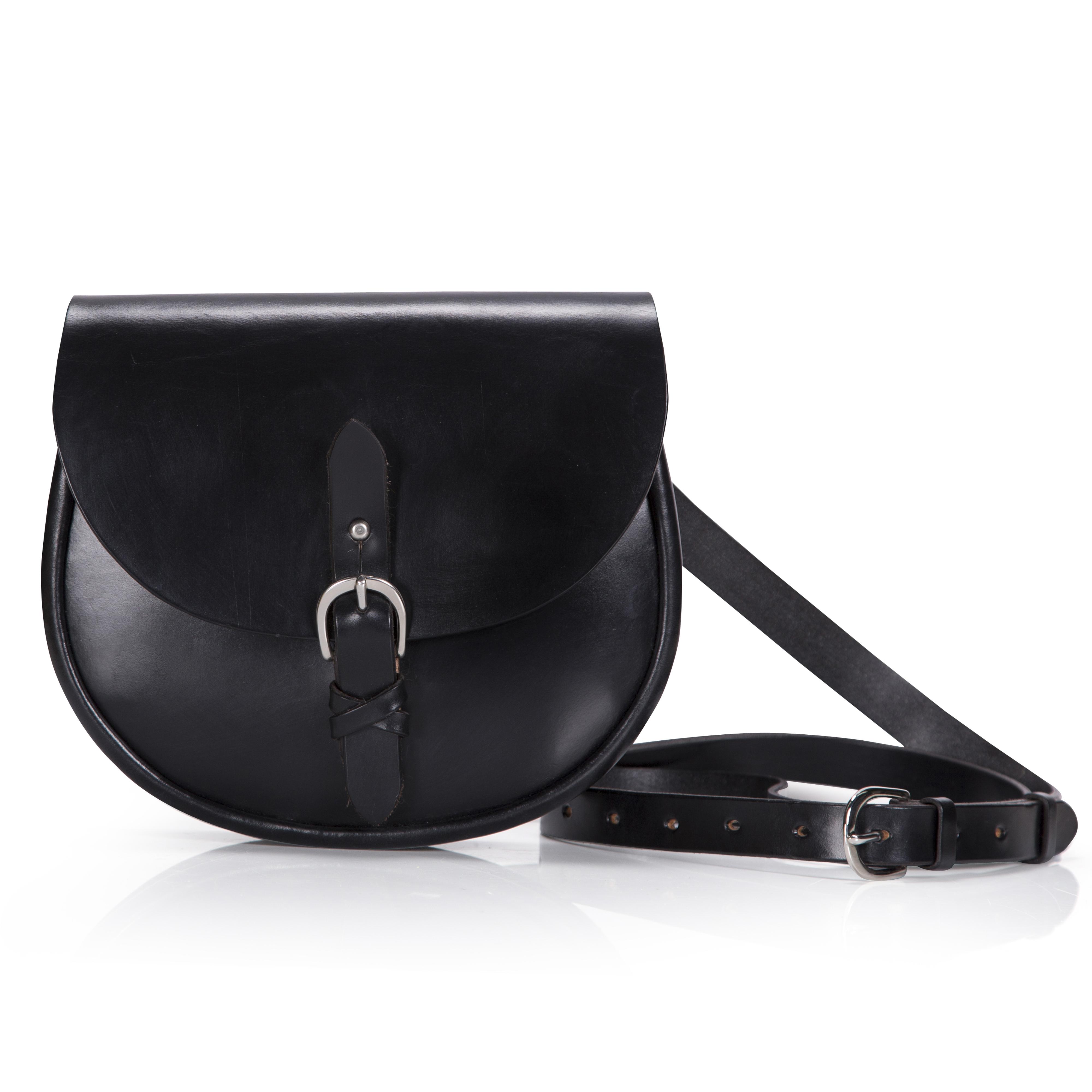 IONA £ 295.00. Bridle hide leather saddle bag. A cross-body ... 6a414224d4ba7